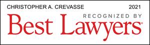 Best Lawyers 2021 Chris Crevasse