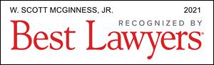 Best Lawyers 2021 Scott McGinness
