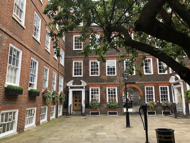 Inn of Court Middle Temple in London