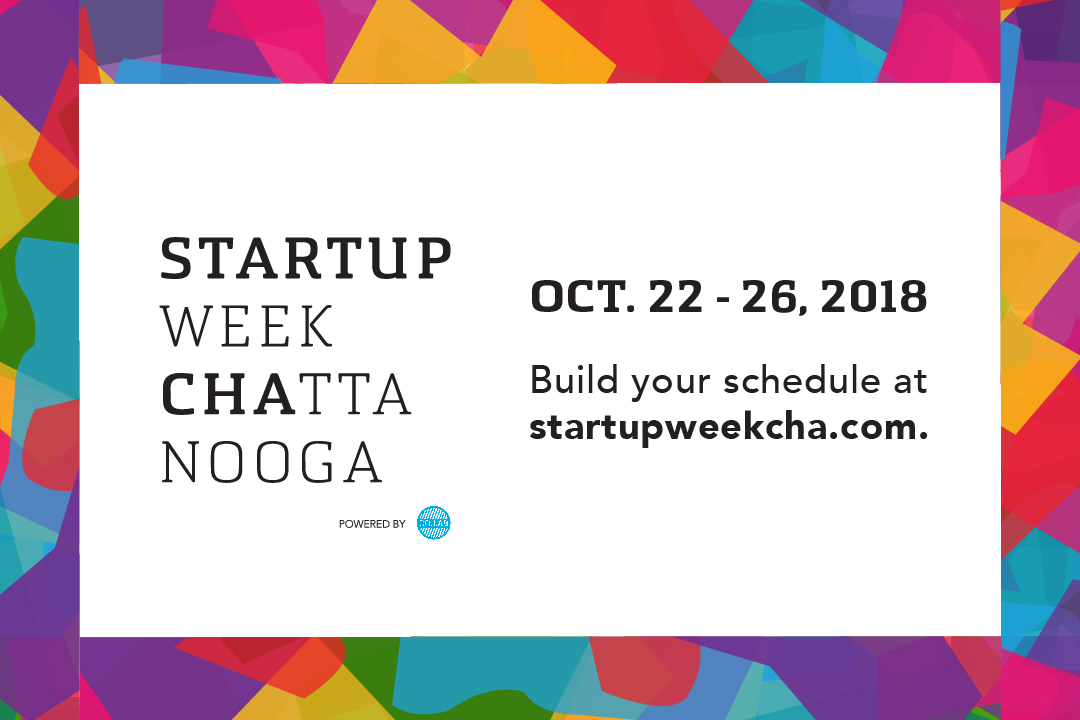 Startup Week 2018 - Build Your Schedule