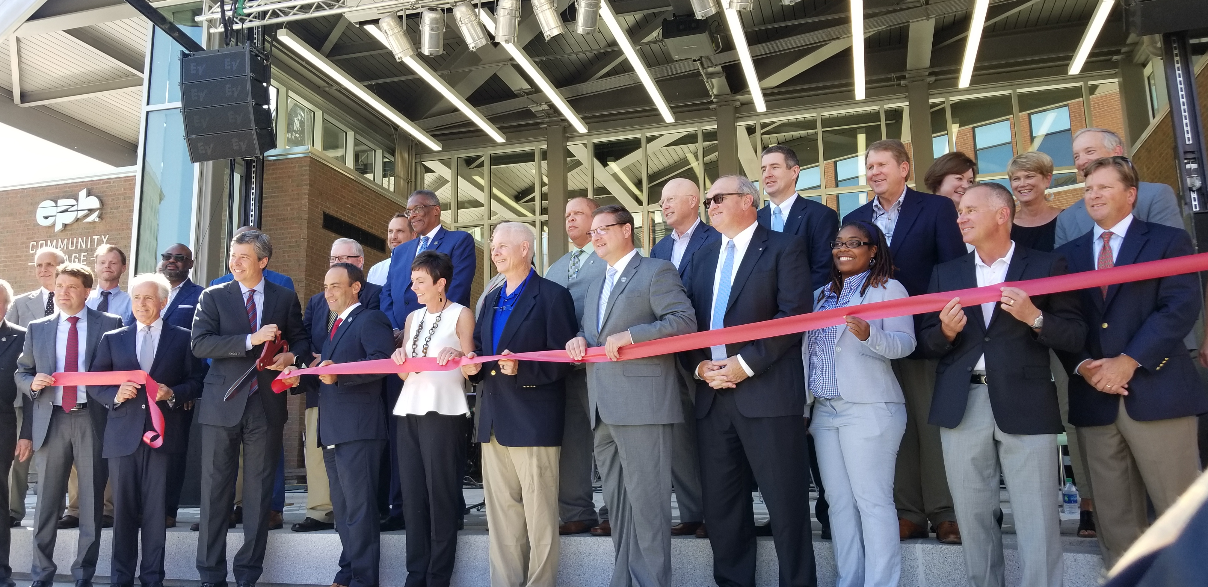 Miller Park Community Partners Participate in Ribbon Cutting for Miller Park Re-Opening Celebration